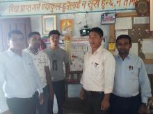 नगरडाँडा मा.वि का शिक्षक ज्यूहरु संग ग्रुप फोटो
