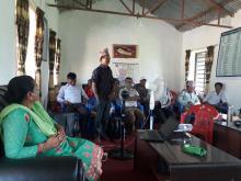कार्यवाहक वडा अध्यक्ष श्री कुल सिं राना ज्यूले पछिल्लो वर्षमा आफ्नो वडामा पोषण सम्बन्धी भएको प्रगति प्रस्तुत गर्दै