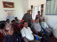 कार्यवाहक वडा अध्यक्ष श्री लक्ष्मी बहादुर थापा ज्यूले आफ्नो जिज्ञासा राख्दै