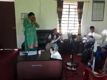 उपाध्यक्ष श्री माया देवी श्रेष्ठ ज्यूले कार्यक्रमको समापन गर्दै