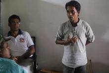 जिल्ला समन्वय समितिका सदस्य श्री लक्ष्मीकान्त पाण्डे ज्यूले कार्यक्रममा आफुले बुझेका कुराहरु भन्दै