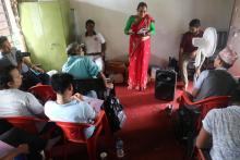 उपाध्यक्ष श्री माया देवी श्रेष्ठ ज्यूले कार्यक्रममा आफुले बुझेका कुराहरु व्यक्त गर्दै