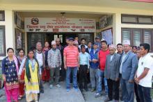 जिल्ला पशु सेवा कार्यालय, पोखरामा अवलोकन गर्दै