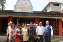 जिल्ला पशु सेवा कार्यालय, भरतपुर, चितवनमा अवलोकन गर्दी