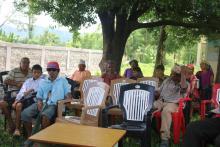 कार्यक्रममा सहभागी अपाङ्ग नागरिकहरु